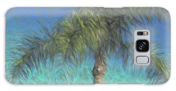 Rippled Palm Galaxy Case