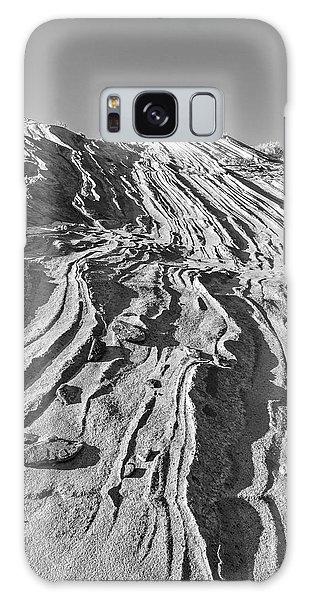 Rippled Sandstone At Waterhole Canyon Galaxy Case