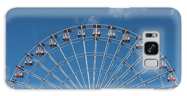 Rise Up Ferris Wheel In The Clouds Seaside Nj Galaxy Case by Terry DeLuco