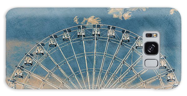 Rise Up Ferris Wheel In The Clouds Galaxy Case by Terry DeLuco
