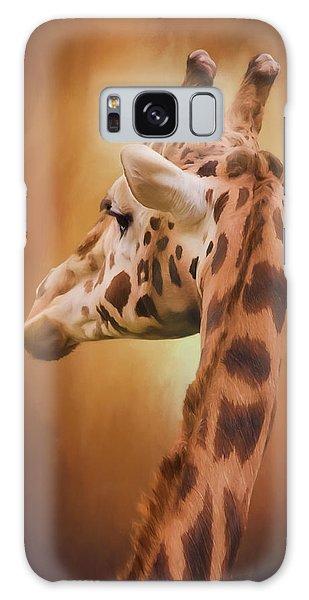 Rising Above - Giraffe Art Galaxy Case