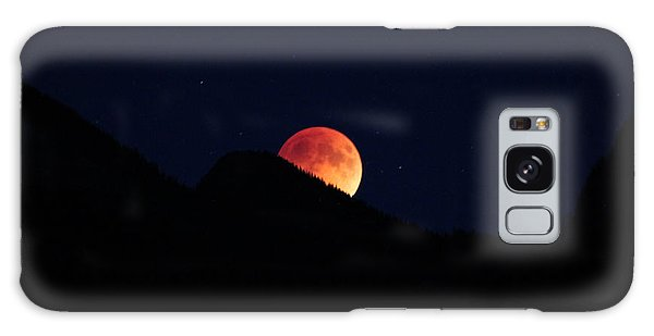 Blood Moon Rising Galaxy Case by Cathie Douglas