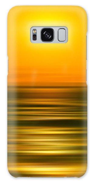 Scenery Galaxy Case - Rising Sun by Az Jackson