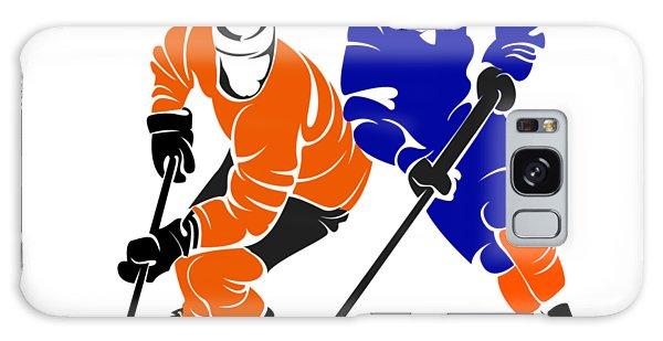 Islanders Galaxy Case - Rivalry Flyers Islanders Shirt by Joe Hamilton
