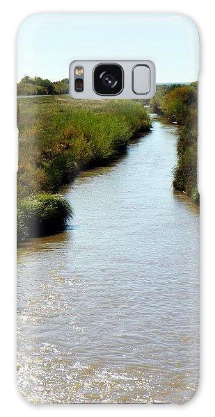 River At The Bosque Galaxy Case
