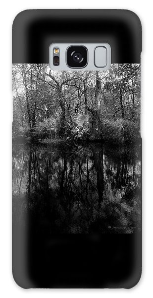 River Bank Palmetto Galaxy Case by Marvin Spates