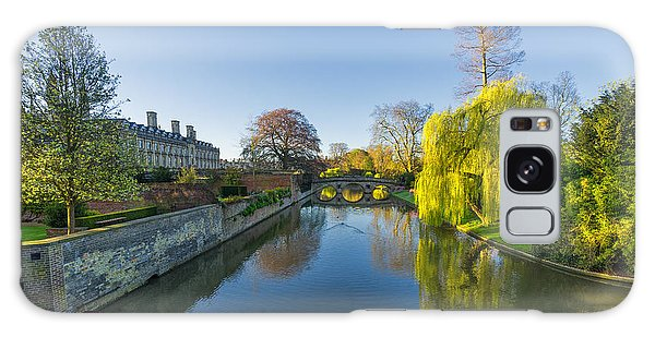 Galaxy Case featuring the photograph River Cam by James Billings