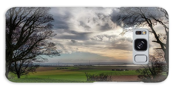 Galaxy Case featuring the photograph River Forth View From Clackmannan Tower by Jeremy Lavender Photography