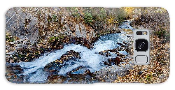River In Autumn Galaxy Case