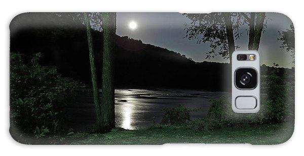 River In Moonlight Galaxy Case