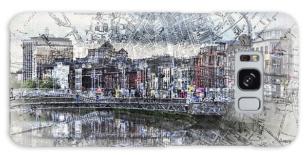 River Liffey Dublin Galaxy Case