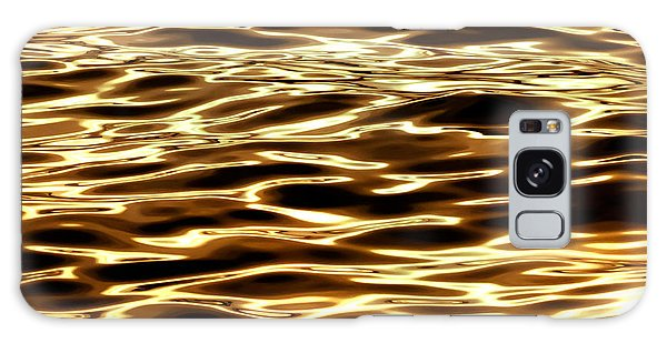 Surrealism Galaxy S8 Case - River Of Gold by Az Jackson