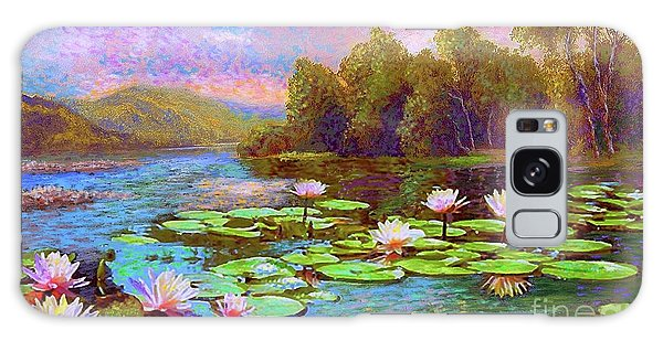 Lily Galaxy S8 Case - The Wonder Of Water Lilies by Jane Small