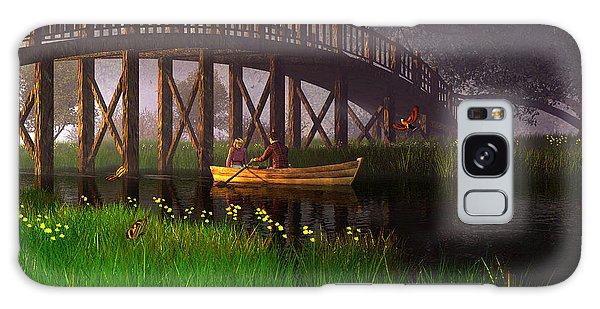 River Of Poems Galaxy Case
