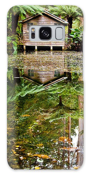Shed Galaxy Case - River Reflections by Az Jackson