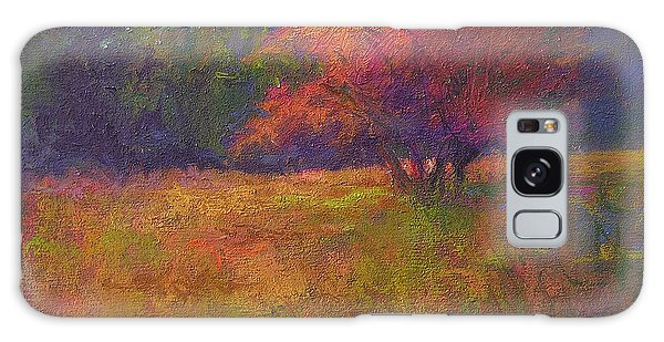 River Road Above New Hope Galaxy Case by Susan Williamson
