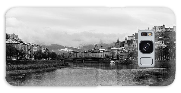 River Salzach View In Salzburg Galaxy Case
