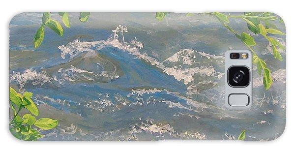 River Spring Galaxy Case by Karen Ilari