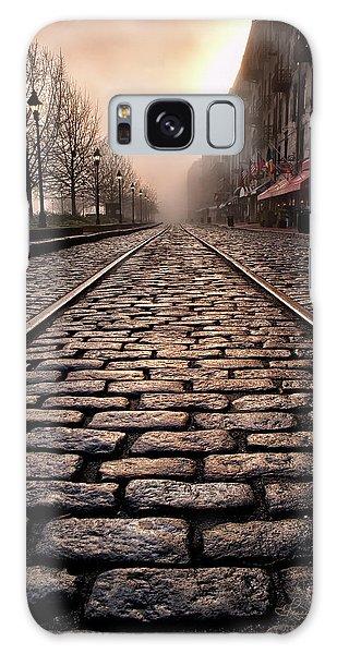 River Street Railway Galaxy Case by Renee Sullivan