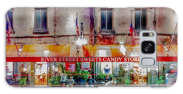 River Street Sweets Candy Store Savannah Georgia   Galaxy Case