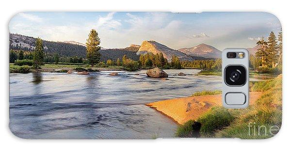 River Sunset  Galaxy Case