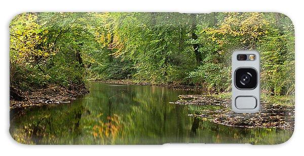 River Teign On Dartmoor Galaxy Case