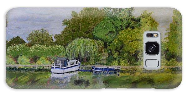 River Thames Hampton Galaxy Case