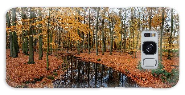 River Through Autumn Galaxy Case