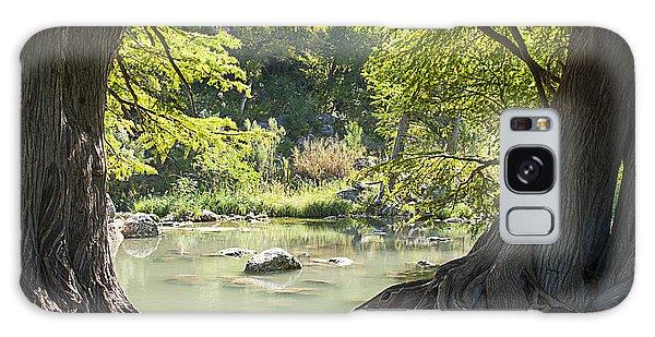 River Through Trees Galaxy Case