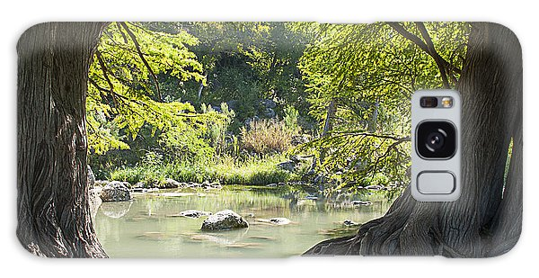 River Through Trees Galaxy Case