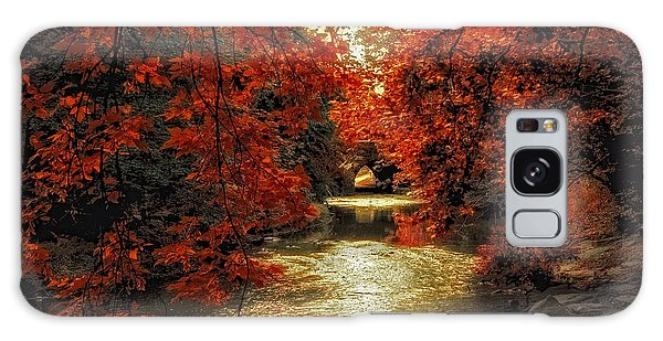 Riverbank Red Galaxy Case by Jessica Jenney
