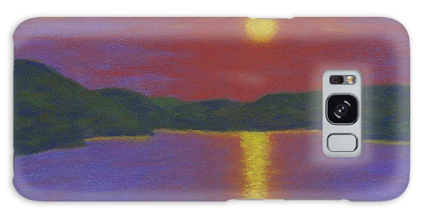Riverboat Sunset Galaxy Case