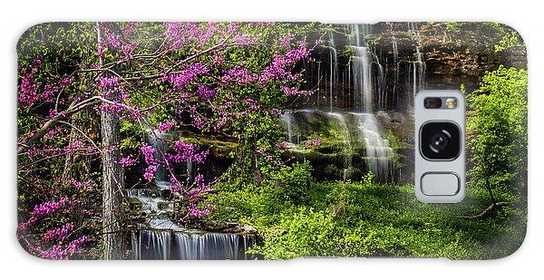 Rivercut Waterfall Galaxy Case