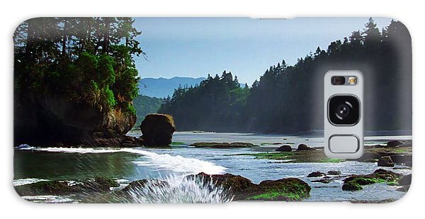 Rivers And Lakes Around Olympic National Park America Galaxy Case