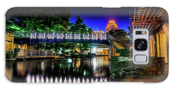 Riverwalk Bridge Galaxy Case