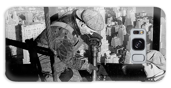 Riveters On The Empire State Building Galaxy S8 Case