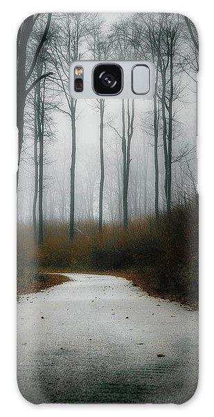 Road In The Fog 07/11/17 Galaxy Case