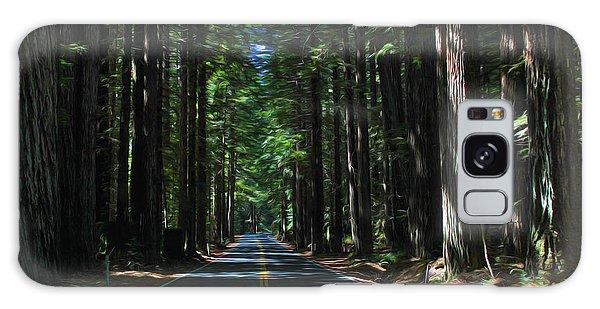 Road To Mendocino Galaxy Case