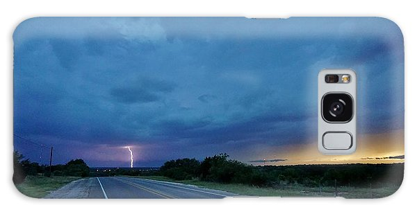 Lightning Over Sonora Galaxy Case by Ed Sweeney