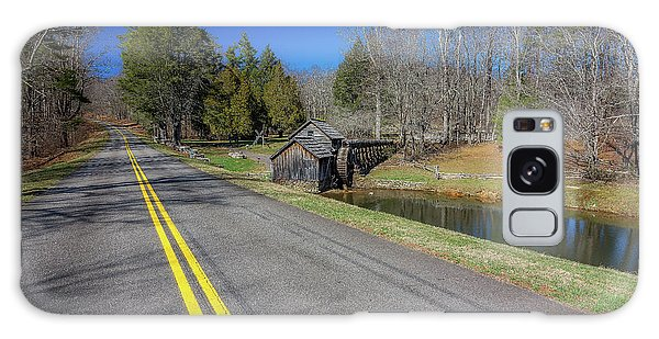 Road View Of Mabry Mill Galaxy Case