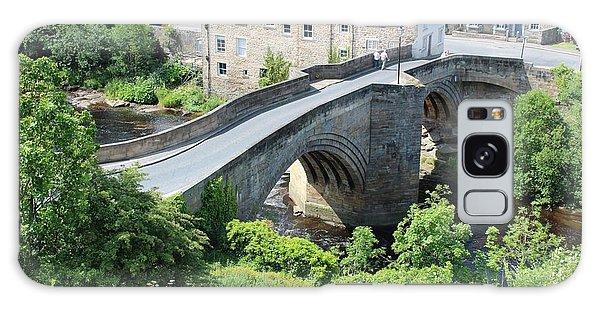 Roadbridge Over The River Tees Galaxy Case