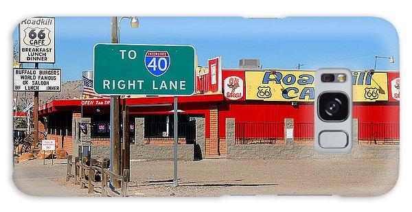 Roadkill Cafe, Route 66, Seligman Arizona Galaxy Case