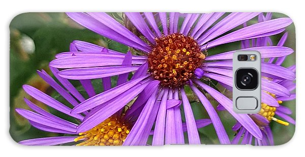 Roadside Flowers Galaxy Case