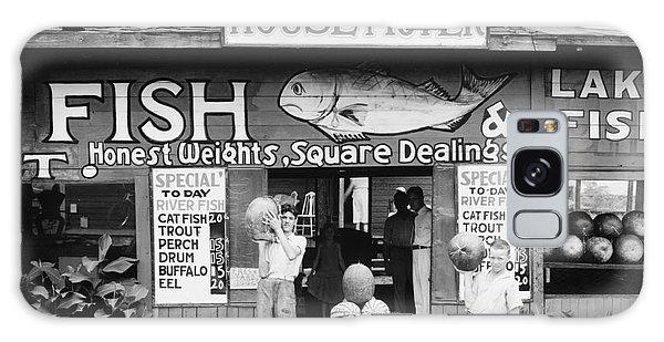 Watermelon Galaxy S8 Case - Roadside Stand Near Birmingham, Alabama by Walker Evans