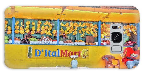 Roadside Vendor Galaxy Case