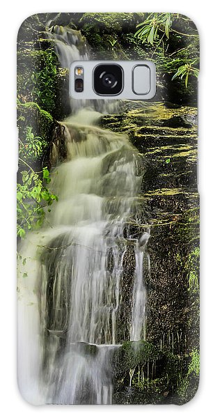 Roadside Waterfall Galaxy Case