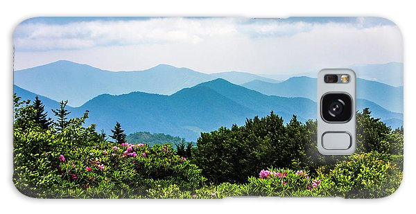 Roan Mountain Rhodos Galaxy Case by Dale R Carlson