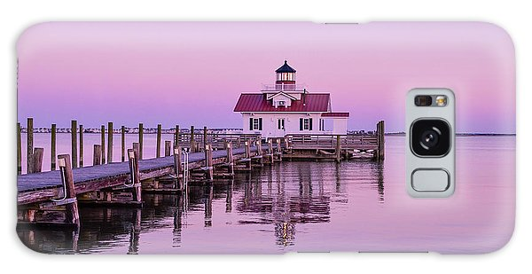 Roanoke Marshes Lighthouse  Galaxy Case