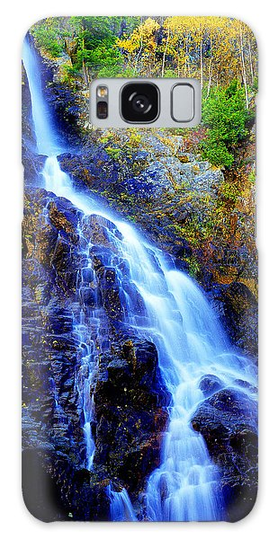 Roaring Brook Falls Galaxy Case