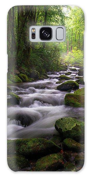 Great Smoky Mountains Roaring Fork Gatlinburg Tennessee Galaxy Case